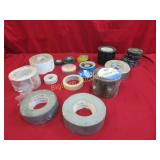 Tape: Duct, PVC Pipe Wrap, Foil,