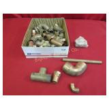 New Copper & Brass Plumbing Fittings Various Sizes