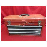 "Craftsman 3 Drawer 20"" Tool Box w/ Contents"