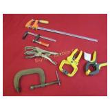 Clamps: 6 pc lot