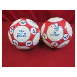 Soccer Balls: 2 pc lot