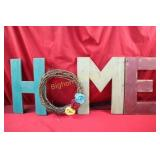 *Wooden HOME Sign