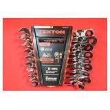 *New Tekton METRIC Flex Head Ratcheting Wrench Set