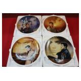 *Elvis Presley Collector Plates: 4pc lot