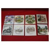 *Collector Tiles: 8pc lot
