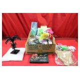 New Craft Items, Hair Chalk, Earring Display,