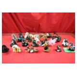 Clay Horse Collection Approx. 23pc lot