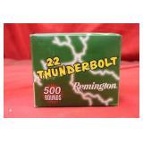 Ammo .22LR 500 Rounds Remington Thunderbolt