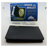 New Concealed Carry Badge and Wallet