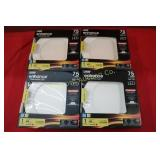 """Feit 6"""" Candless LED Downlights 4pc lot"""