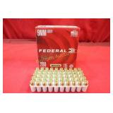 Ammo: 9mm 200 Rounds Federal 115 Gr. FMJ RN