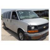 2010 Chevrolet Van Automatic