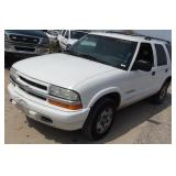2002 Chevrolet Blazer Automatic