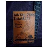 Tantalizng Thimbles book