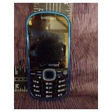 Blue Verizone Samsung phone