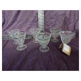 Indiana Glass Sunday glass set of 6
