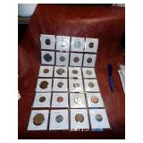 Misc lot of Foreign Coins
