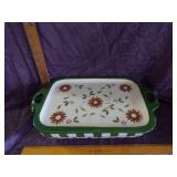 Temp-tations baking dish with platter lid