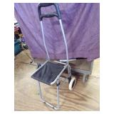 Rolling portable seat/chair