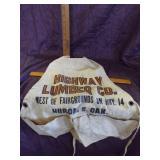Highway Lumbar Carpenters apron