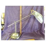 Brass desk lamp-adjustable