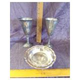 Lot of misc Silverplate items