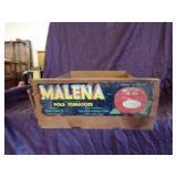 Malena Tomato crate-original label