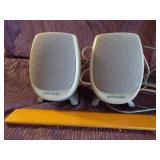 Pair of Polk Audio speakers