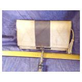 Leather clutch-old