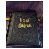 Large Leather bond Holy Bible