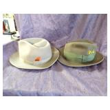 Vintage mens hats lot