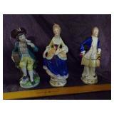 Victorian Figurines lot