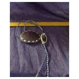 BOLO and leather beltbuckle