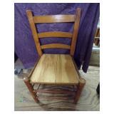 Oak framed Country chair