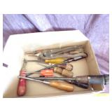 Misc box of handtools
