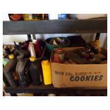 Misc Garage shelf lot