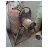 Red Lion Cement mixer-works