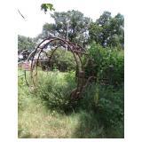 8ft Hay ring-metal