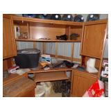 Wooden desk/credensa