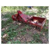 Knox Tractor Co Blade and grater for tractor