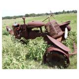 Antique tractor-as is