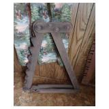 Antique wooden Buggy jack