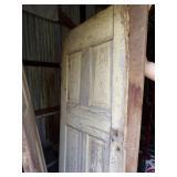 Old Wood Interior door