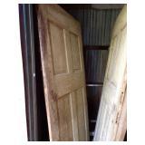 Old Wooden Interior door