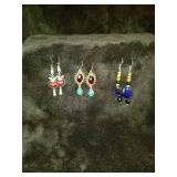 Lot of 3 pc earrings