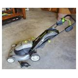 EARTH WISE ELECTRIC MOWER BAGGER WITH CHARGER