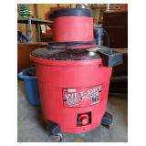 CRAFTSMAN WET DRY VAC AND ATTACHMENTS