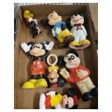 TRAY OF MISC DISNEY COLLECTIBLES