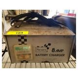 SEARS 8 AMP BATTERY CHARGER