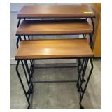 COPPER LOOK NESTING TABLES